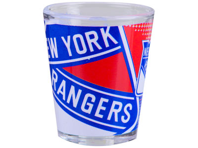 New York Rangers 2oz Fade Away Collector Glass