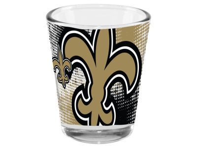 New Orleans Saints 2oz Fade Away Collector Glass