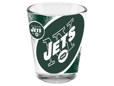 New York Jets 2oz Fade Away Collector Glass