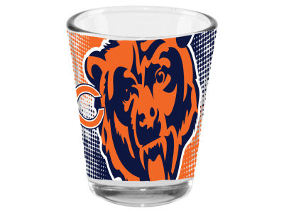 Chicago Bears Memory Company 2oz Fade Away Collector Glass