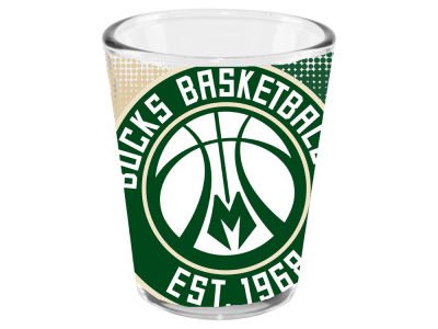 Milwaukee Bucks Memory Company 2oz Fade Away Collector Glass