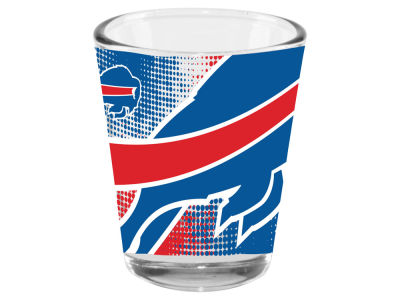 Buffalo Bills 2oz Fade Away Collector Glass