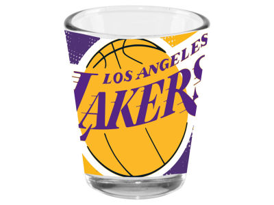 Los Angeles Lakers 2oz Fade Away Collector Glass