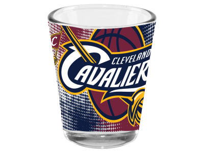 Cleveland Cavaliers 2oz Fade Away Collector Glass