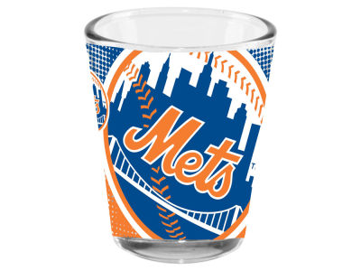 New York Mets Memory Company 2oz Fade Away Collector Glass