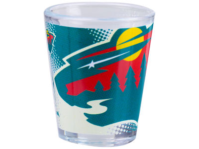 Minnesota Wild 2oz Fade Away Collector Glass