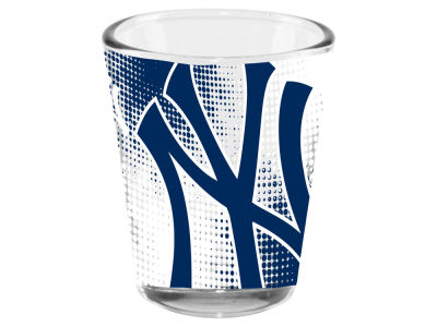 New York Yankees Memory Company 2oz Fade Away Collector Glass