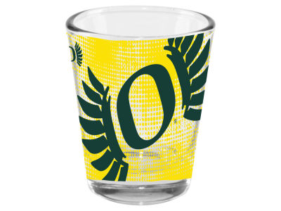 Oregon Ducks 2oz Fade Away Collector Glass