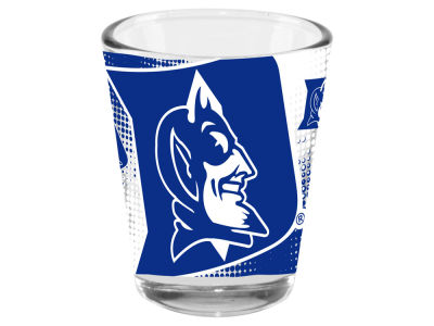 Duke Blue Devils 2oz Fade Away Collector Glass