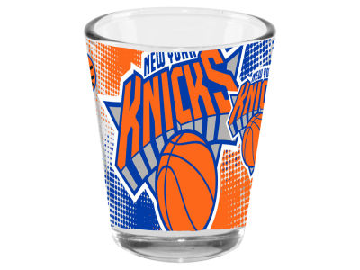 New York Knicks 2oz Fade Away Collector Glass
