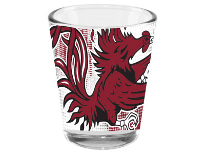 South Carolina Gamecocks 2oz Fade Away Collector Glass