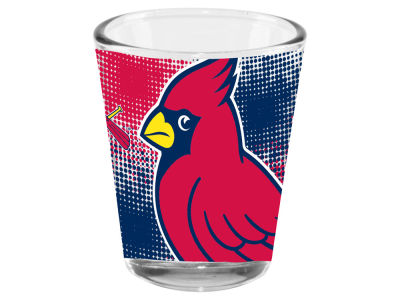 St. Louis Cardinals Memory Company 2oz Fade Away Collector Glass