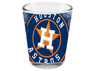 Houston Astros 2oz Fade Away Collector Glass