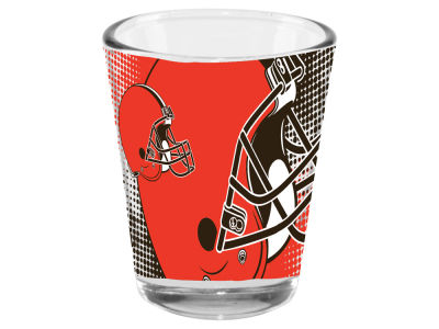 Cleveland Browns 2oz Fade Away Collector Glass