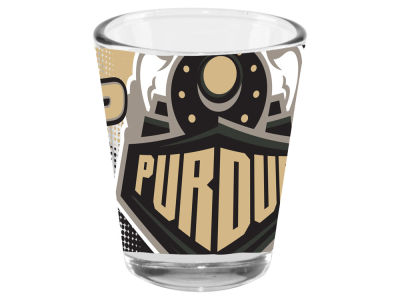 Purdue Boilermakers Memory Company 2oz Fade Away Collector Glass