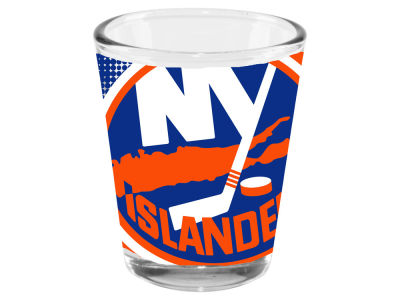 New York Islanders Memory Company 2oz Fade Away Collector Glass