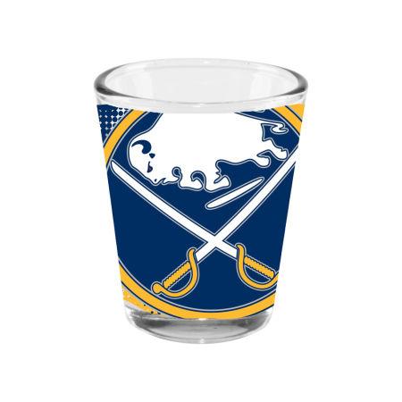 Buffalo Sabres 2oz Fade Away Collector Glass