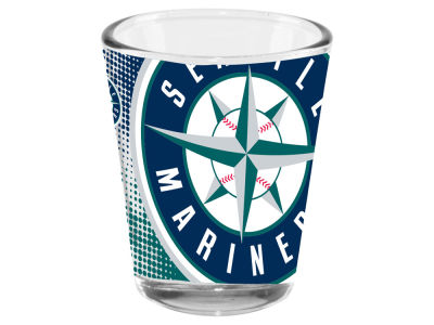 Seattle Mariners 2oz Fade Away Collector Glass