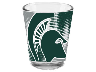 Michigan State Spartans 2oz Fade Away Collector Glass
