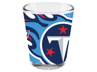 Tennessee Titans 2oz Fade Away Collector Glass