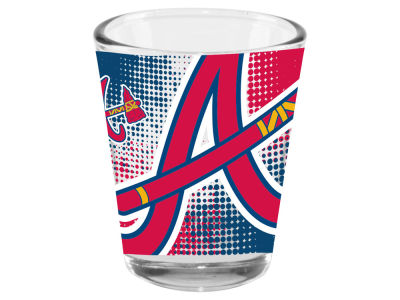 Atlanta Braves Memory Company 2oz Fade Away Collector Glass