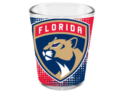 Florida Panthers 2oz Fade Away Collector Glass