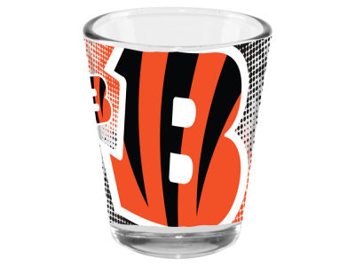 Cincinnati Bengals 2oz Fade Away Collector Glass