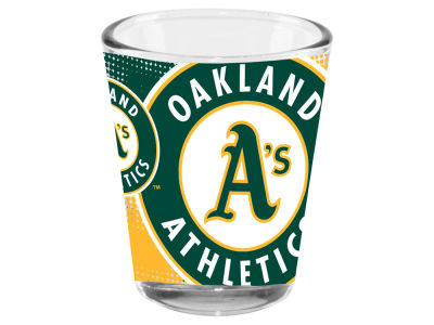 Oakland Athletics Memory Company 2oz Fade Away Collector Glass