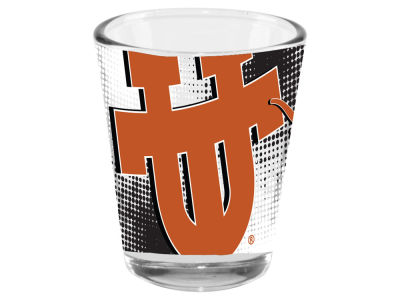 Texas Longhorns 2oz Fade Away Collector Glass