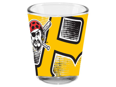Pittsburgh Pirates Memory Company 2oz Fade Away Collector Glass