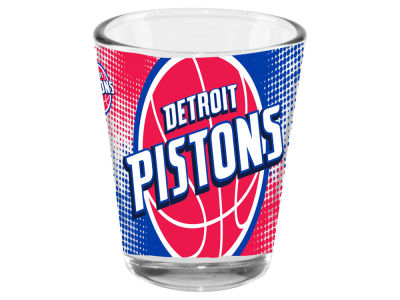 Detroit Pistons 2oz Fade Away Collector Glass