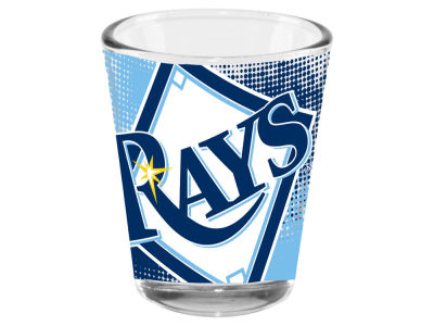 Tampa Bay Rays Memory Company 2oz Fade Away Collector Glass