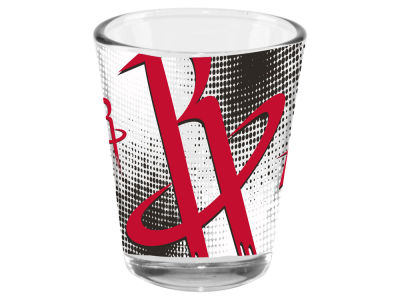 Houston Rockets 2oz Fade Away Collector Glass