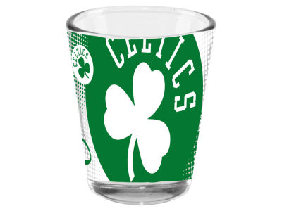 Boston Celtics 2oz Fade Away Collector Glass