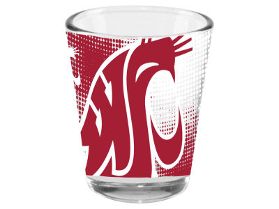 Washington State Cougars Memory Company 2oz Fade Away Collector Glass