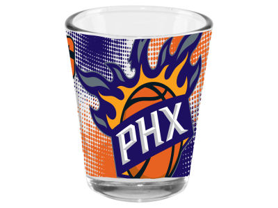 Phoenix Suns 2oz Fade Away Collector Glass