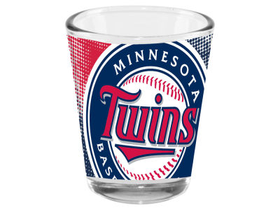 Minnesota Twins Memory Company 2oz Fade Away Collector Glass