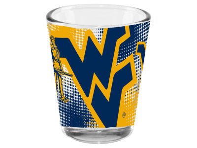 West Virginia Mountaineers 2oz Fade Away Collector Glass