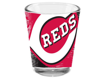 Cincinnati Reds Memory Company 2oz Fade Away Collector Glass