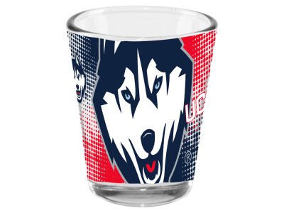 Connecticut Huskies 2oz Fade Away Collector Glass