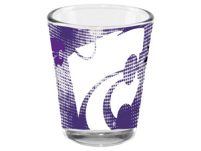Kansas State Wildcats Memory Company 2oz Fade Away Collector Glass