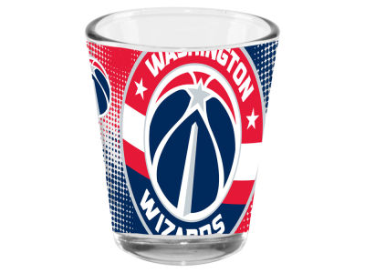 Washington Wizards 2oz Fade Away Collector Glass
