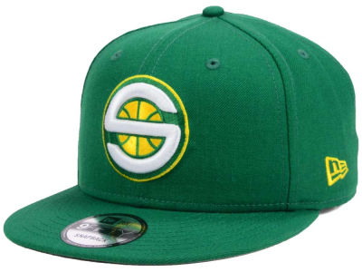 Seattle SuperSonics New Era NBA Home Team Hook 9FIFTY Snapback Cap