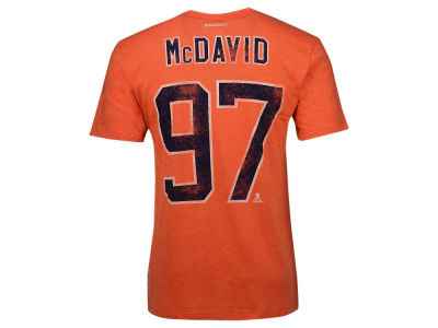 Edmonton Oilers Connor McDavid Reebok NHL Youth Heritage Classic Player T-Shirt