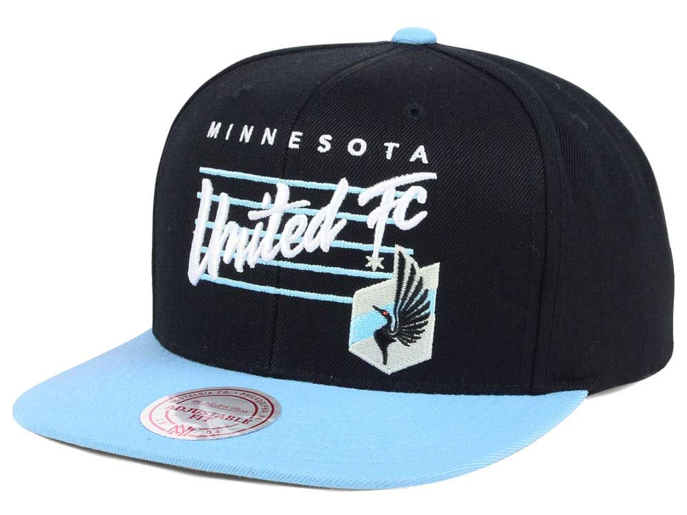 finest selection 103d4 7811c ... new zealand minnesota united fc mitchell ness mls mithchell ness script snapback  cap 4def5 06b2e