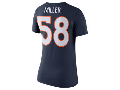 Denver Broncos Von Miller Nike NFL Womens Player Pride T-Shirt