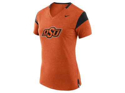 Oklahoma State Cowboys Nike NCAA Women's Fan V Top T-Shirt