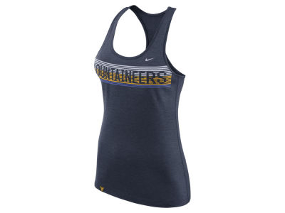 West Virginia Mountaineers Nike NCAA Women's Touch Tank