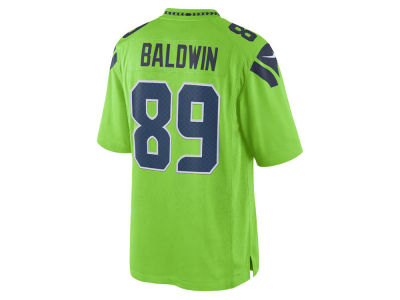 Seattle Seahawks Doug Baldwin Nike NFL Youth Color Rush Jersey
