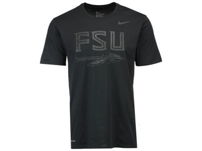 Florida State Seminoles Nike NCAA Men's Dri-Fit Cotton Travel T-Shirt